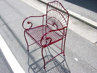 リフレッシュした椅子