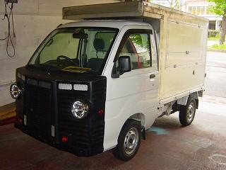 軽トラック移動販売車