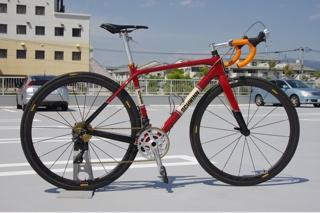 自転車ペイント